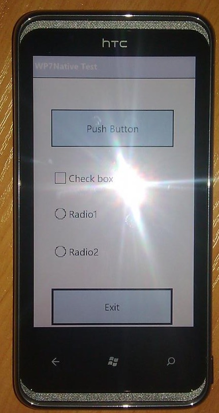 DFT details Full Unlock, Native EXE Applications on WP7